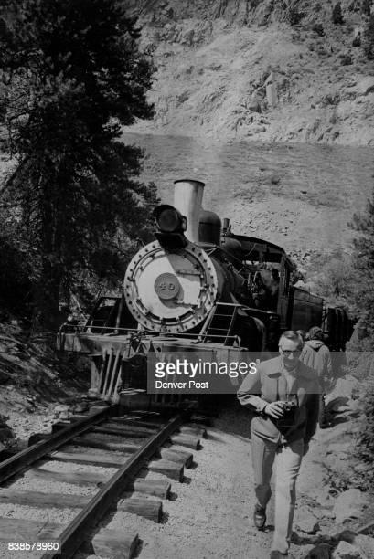 Georgetown Breckenridge Leadville Railroad Closes For Season Railroad buff Elwin Wintrihgham 2395 W Ohio Ave above strides ahead of little engine to...