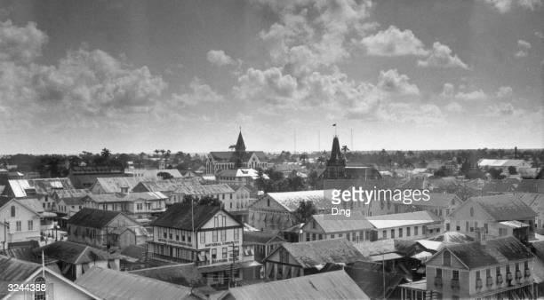 Georgetown capital of Guyana