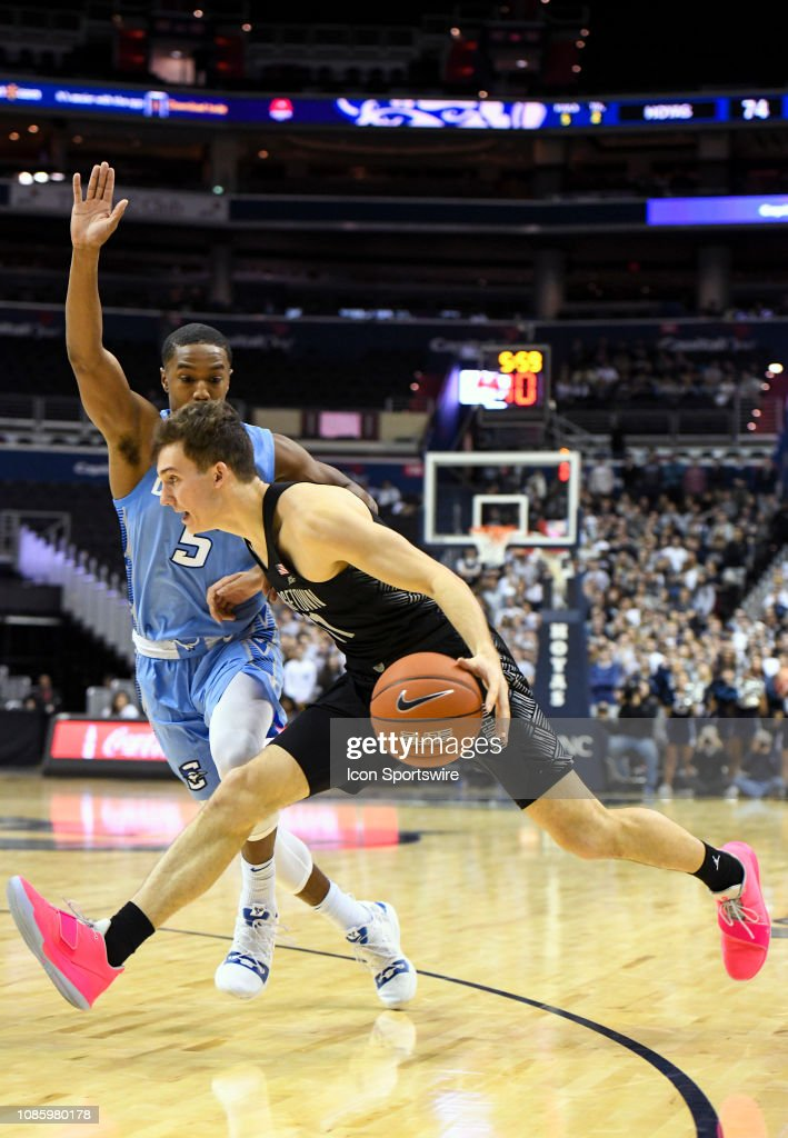 COLLEGE BASKETBALL:  JAN 21 Creighton at Georgetown : News Photo