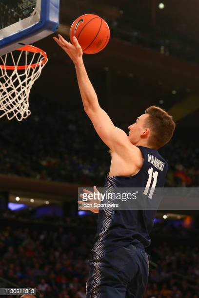 Georgetown Hoyas guard Greg Malinowski during the first half of the Big East Tournament quarterfinal game between the Seton Hall Pirates and the...