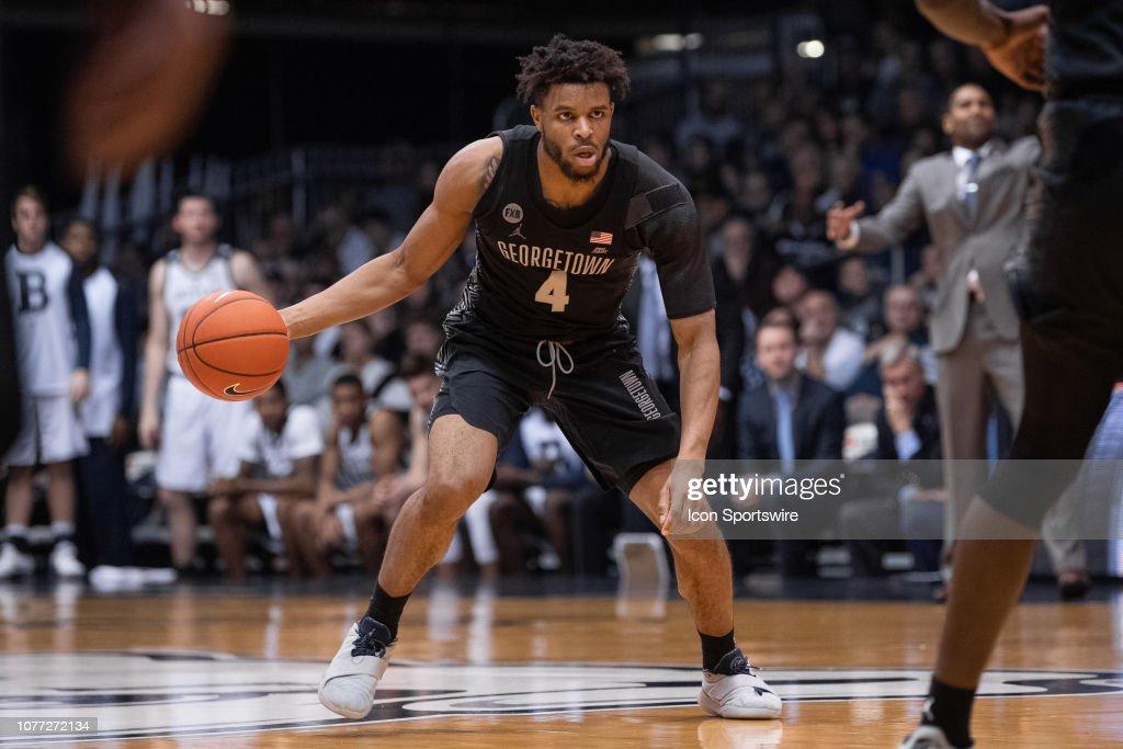 COLLEGE BASKETBALL: JAN 02 Georgetown at Butler : News Photo