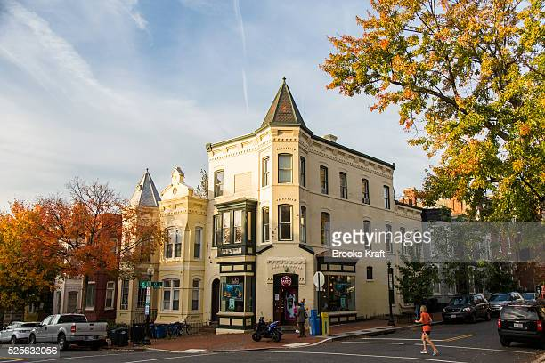Georgetown is an historic neighborhood located in northwest Washington DC situated along the Potomac River It is popular for its highend shopping and...