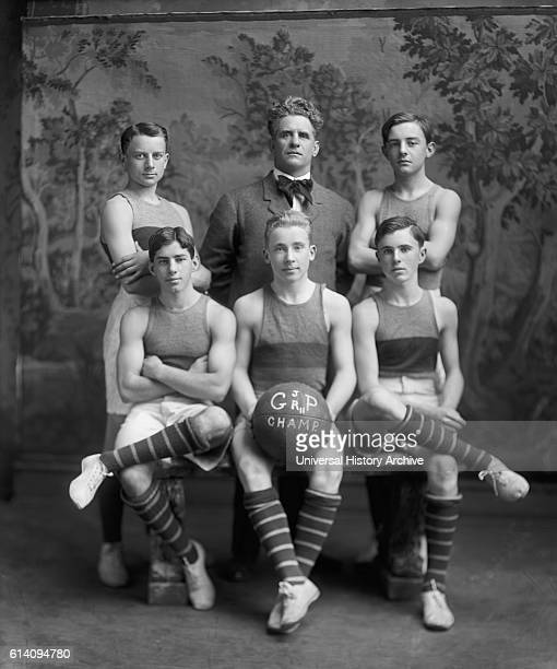 Georgetown Junior Preps Basketball Team circa 1905