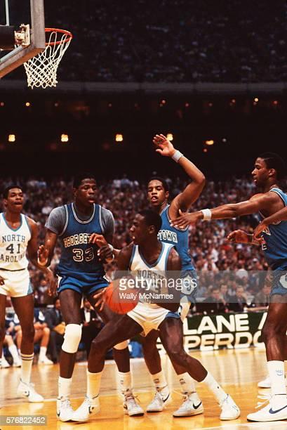 Georgetown Players Guard Michael Jordan