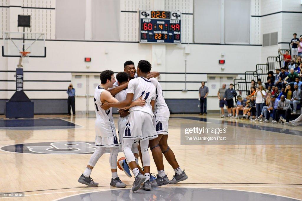 IAC conference boys Championship basketball game : News Photo