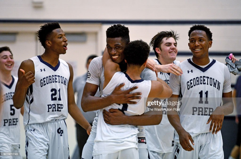 IAC conference boys Championship basketball game : News Photo
