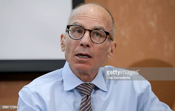Georgetown University Law Center's O'Neill Institute for National and Global Health Law Professor Lawrence Gostin participates in a panel discussion...