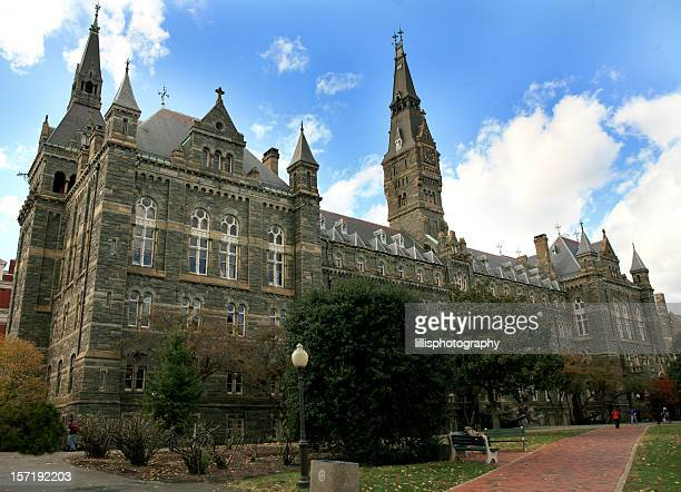 georgetown university washington dc - spire stock pictures, royalty-free photos & images