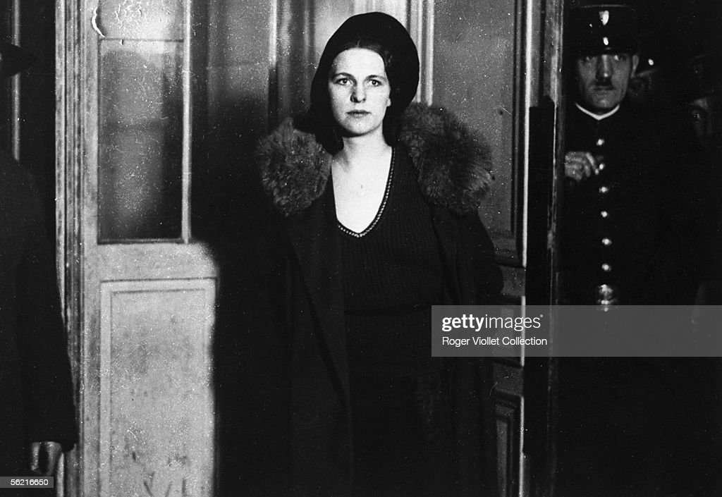 Georgette Charriere, the Henri Charriere's wife, s : News Photo