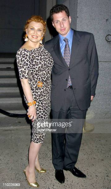 Georgette Mosbacher and Alex Shustorvich during The Cipriani Wall Street Concert Series Presents Sheryl Crow Arrivals at Ciprianis Wall Street in New...