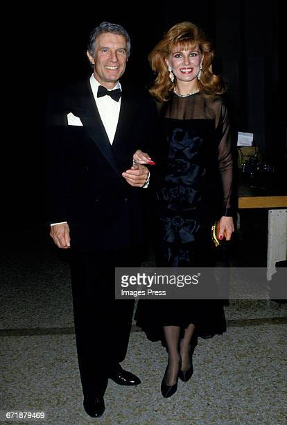 Georgette Mosbacher and husband Robert Mosbacher attend the Annual Costume Institute Exhibition Gala Dinner with DV honoring Diana Vreeland at the...