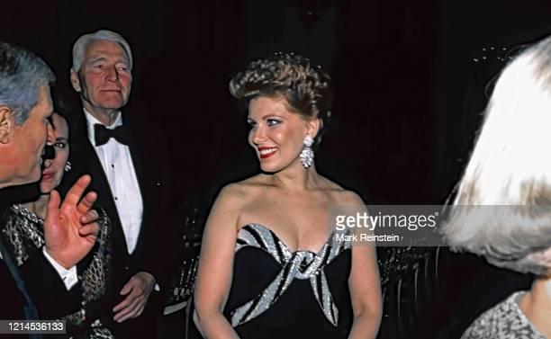 Georgette Mosbacher at black tie reception in Washington DC.1991