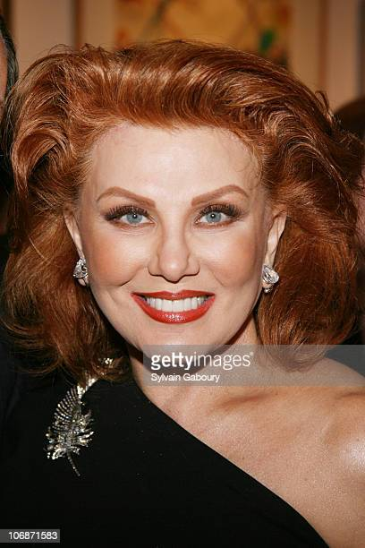 """Georgette Mosbacher during A party for Tom Perkins' new book """"Sex and the Zillionaire"""" at the Allan Stone Gallery on 113 East 90th Street, NYC at..."""