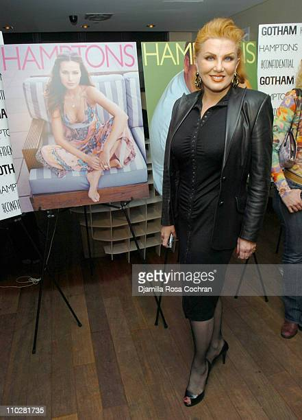 Georgette Mosbacher during Hamptons Magazine Presents the Launch of Jim Belushi's Book Real Men Don't Apologize at Bed in New York City New York...