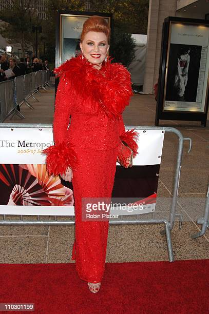 Georgette Mosbacher during Madama Butterfly Opening Night Starting the Lincoln Center Metropolitan Opera 20062007 Season at Lincoln Center in New...