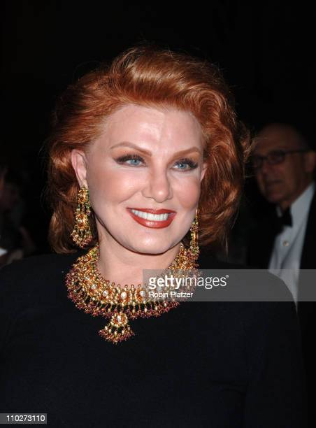 Georgette Mosbacher during PEN American Center's 2006 Literary Gala with Diane Sawyer at American Museum Of Natural History in New York City New York...