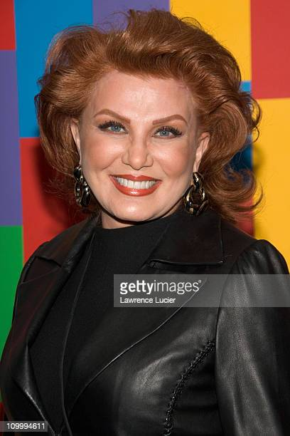 Georgette Mosbacher during Thank You For Smoking New York Premiere Inside Arrivals March 12 2006 at Museum of Modern Art in New York City NY United...