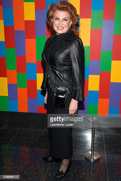 Georgette Mosbacher during Thank You For Smoking New York Premiere - Inside Arrivals - March 12, 2006 at Museum of Modern Art in New York City, NY,...