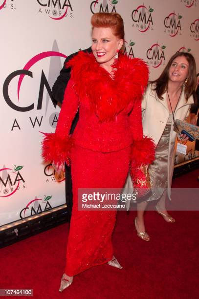 Georgette Mosbacher during The 39th Annual CMA Awards - Arrivals at Madison Square Garden in New York City, New York, United States.