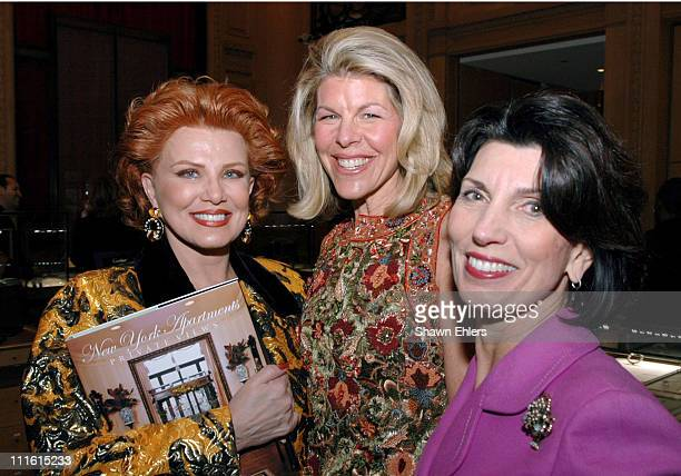 Georgette Mosbacher Jamee Gregory and Pamela Fiori