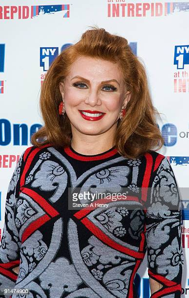 Georgette Mosbacher President and CEO of Borghese attends One On 1 at the Intrepid on the USS Intrepid on October 5 2009 in New York City