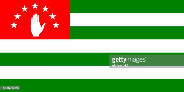 Georgia Abchasien Abkhazia Flag of the de facto independent but officially not recognized Republic of Abkhazia