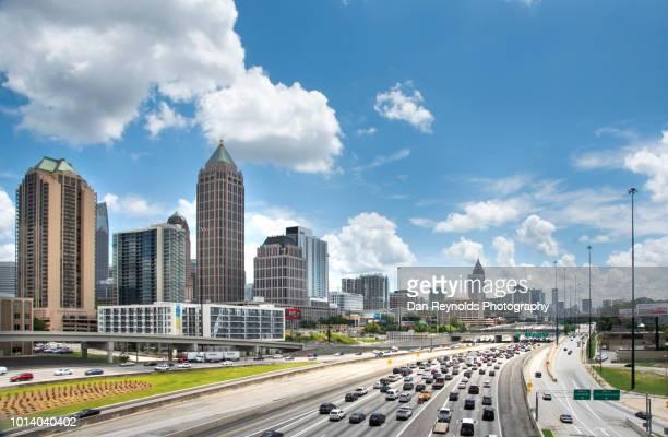 USA, Georgia, Atlanta, Cityscape with skyscrapers