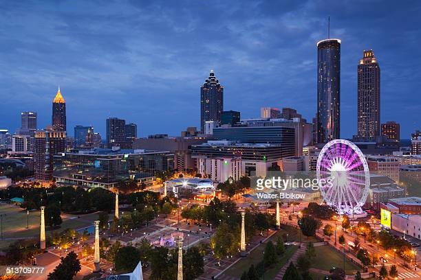 usa, georgia, atlanta - atlanta georgia stock pictures, royalty-free photos & images