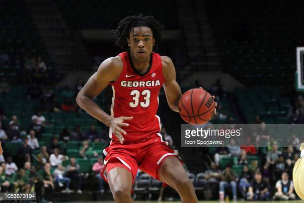 Georgia Bulldogs forward Nicolas Claxton during the game between the UAB Blazers and Georgia Bulldogs on October 18 2018 at Bartow Arena in...