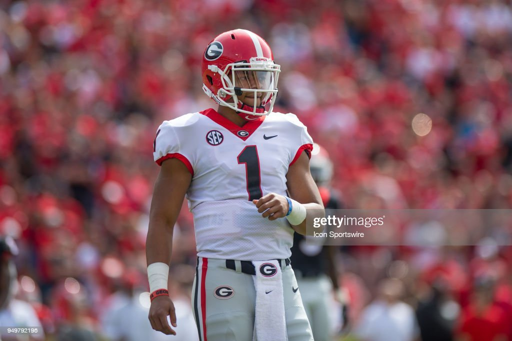 COLLEGE FOOTBALL: APR 21 Georgia Spring Game : News Photo
