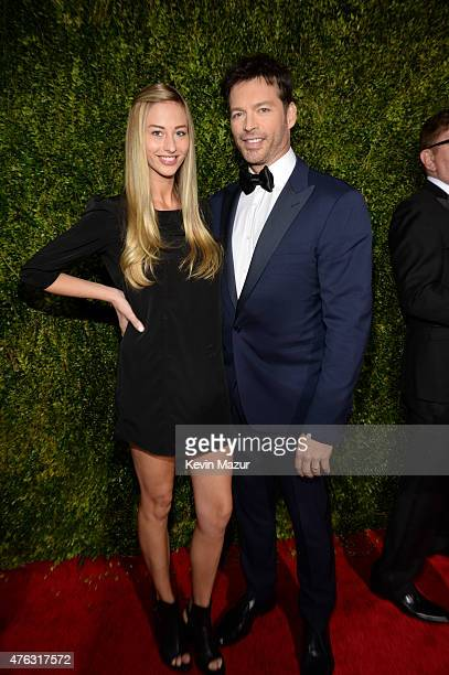 Georgia Connick and Harry Connick Jr attend the 2015 Tony Awards at Radio City Music Hall on June 7 2015 in New York City