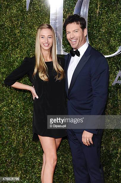 Georgia Connick and Harry Connick Jr attend the American Theatre Wing's 69th Annual Tony Awards at Radio City Music Hall on June 7 2015 in New York...
