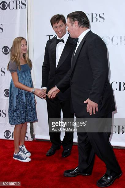 Georgia Connick Jr Harry Connick Jr and Alec Baldwin attend The Tony Awards at Radio City Music Hall on June 15 2008 in New York City