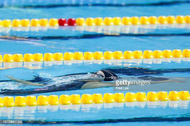 Georgia Davies of Great Britain competes Women's 50m Backstroke during 14th FINA World Swimming Championships Day 4 on December 14 2018 in Hangzhou...