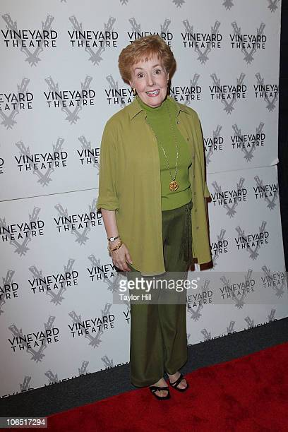 Georgia Engel attends the opening night of Will Eno's Middletown at Vineyard Theatre on November 3 2010 in New York City