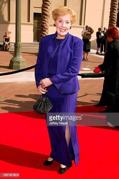 Georgia Engel during 2003 Emmy Creative Arts Awards Arrivals at Shrine Auditorium in Los Angeles California United States