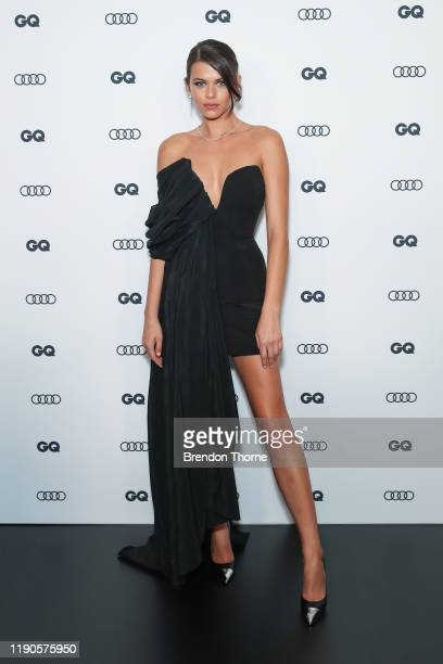 Georgia Fowler arrives at the GQ Men of The Year Awards 2019 on November 28 2019 in Sydney Australia