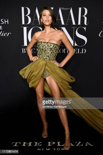 Georgia Fowler attends as Harper's BAZAAR celebrates ICONS By Carine Roitfeld at The Plaza Hotel presented by Cartier Arrivals on September 06 2019...