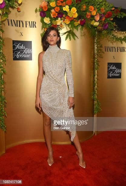 Georgia Fowler attends as Vanity Fair and Saks Fifth Avenue celebrate Vanity Fair's BestDressed 2018 at Manhatta on September 12 2018 in New York City