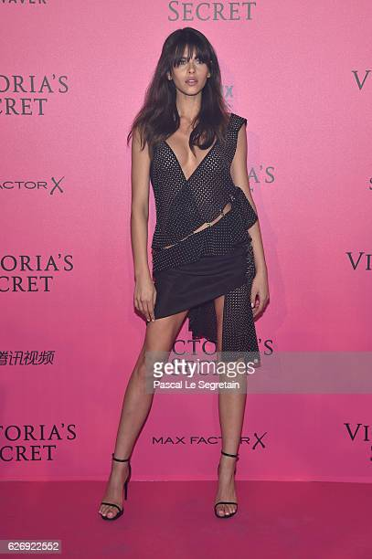 Georgia Fowler attends the 2016 Victoria's Secret Fashion Show after party on November 30 2016 in Paris France