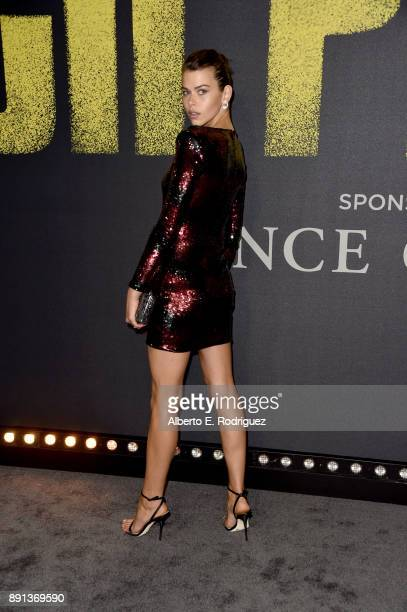 Georgia Fowler attends the premiere of Universal Pictures' 'Pitch Perfect 3' at Dolby Theatre on December 12 2017 in Hollywood California