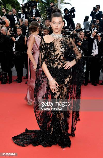 Georgia Fowler attends the screening of Solo A Star Wars Story during the 71st annual Cannes Film Festival at Palais des Festivals on May 15 2018 in...