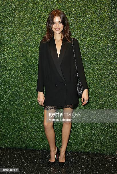 Georgia Fowler attends the 'To Catch A Thief' Ralph Lauren screening at The Museum of Modern Art on October 28 2013 in New York City