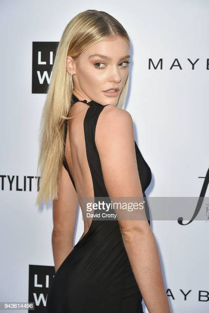 Georgia Gibbs attends The Daily Front Row's 4th Annual Fashion Los Angeles Awards - Arrivals at The Beverly Hills Hotel on April 8, 2018 in Beverly...