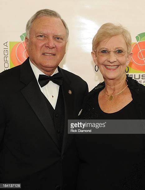 Georgia Governor Nathan Deal and First Lady of Georgia Sandra Deal walk the Red Carpet before the 34th Annual Georgia Music Hall of Fame Awards...