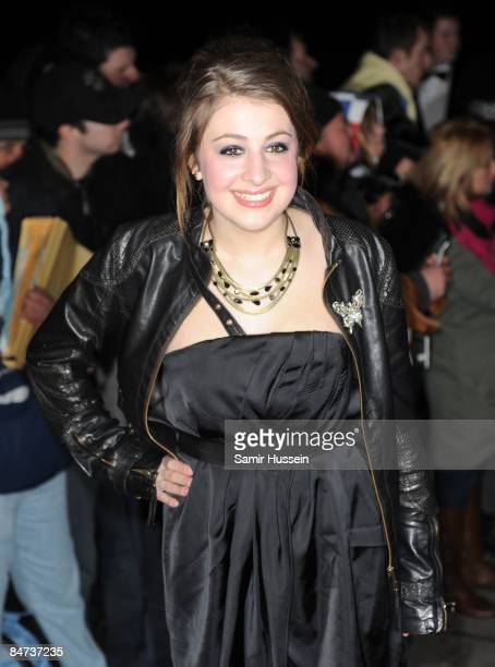 Georgia Groome arrives at The London Critics' Circle Film Awards 2009 at the Grosvenor House Hotel on February 4 2009 in London England