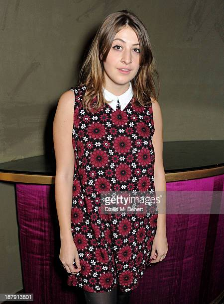 Georgia Groome attends an after party celebrating the press night performance of 'Mojo' at Cafe de Paris on November 13 2013 in London England