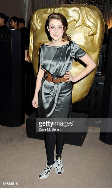 Georgia Groome attends The Orange British Academy Film Awards Nominees Party hosted by Asprey on February 7 2009 in London England
