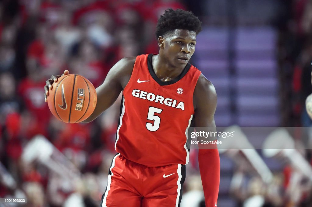 COLLEGE BASKETBALL: FEB 19 Auburn at Georgia : News Photo