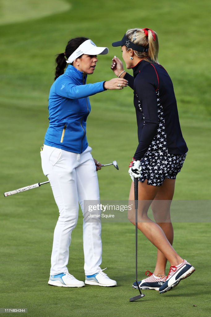 The Solheim Cup - Day 3 : News Photo